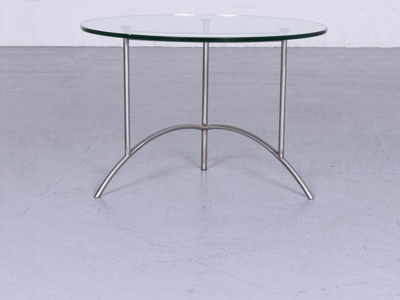 ronald schmitt designer couchtisch silber glas tisch 6394 designermobel koln lovenich
