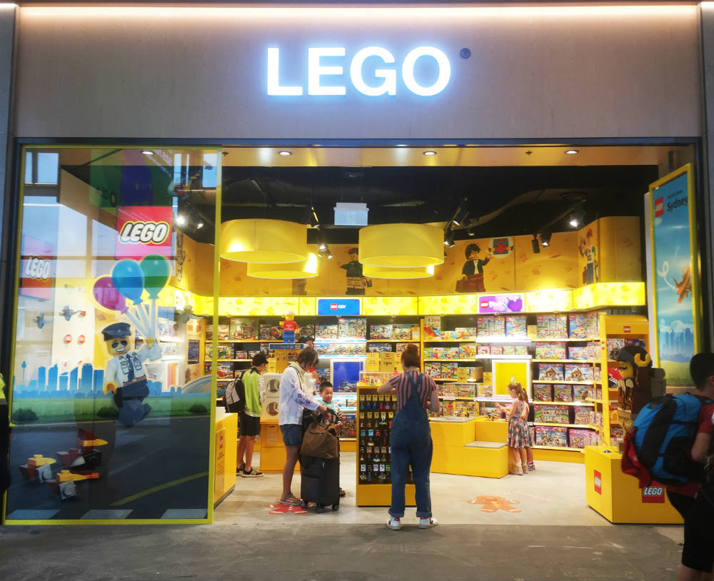 Sydney Airport Shops Lego And Kaboom Speciality Shops Arrive At Sydney Airport Travel