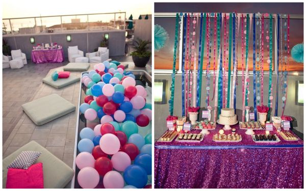 Leila\u0027s Fabulous Fuschia Birthday Party - Inspired By This - birthday party design