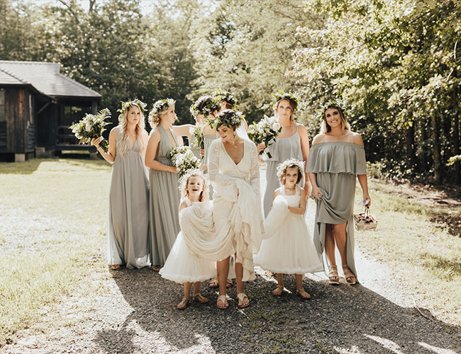 Natural Campground Wedding With Diy Details Inspired By This