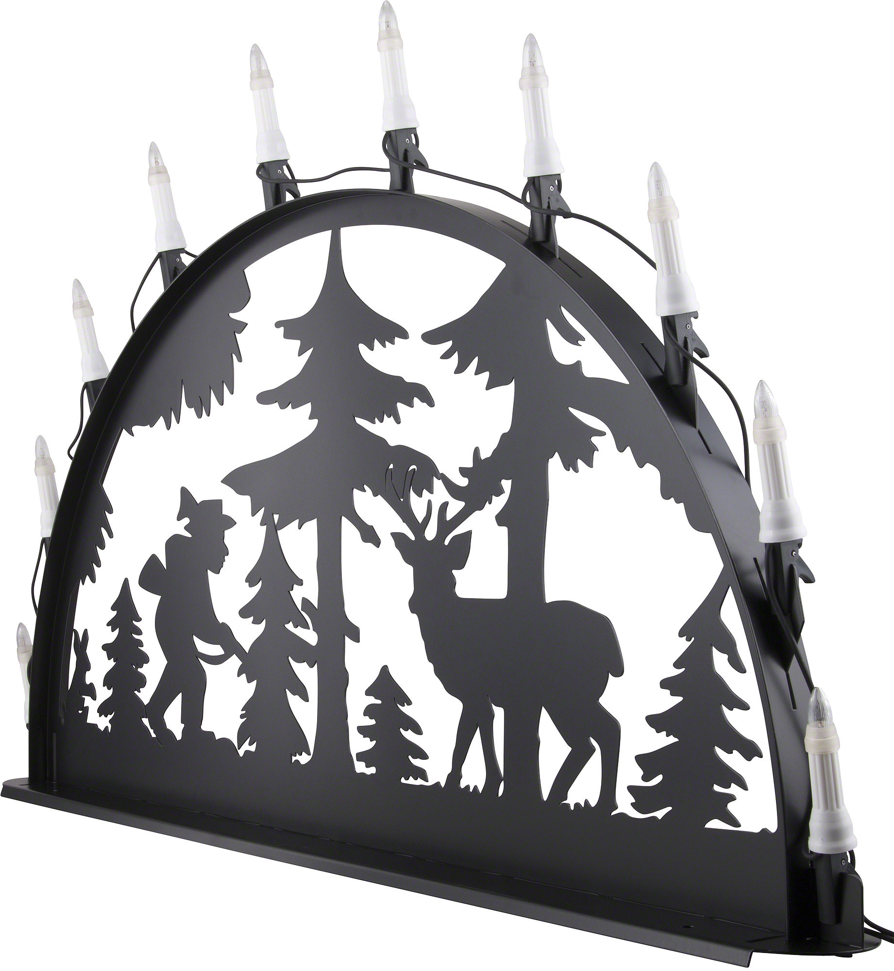 Schwibbogen Modern Metall Candle Arch For Outside Hunter 100 300 Cm 40 120 Inch