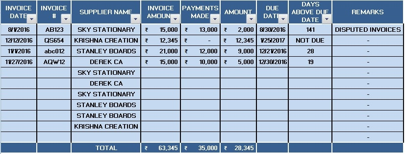 making invoices in excel - zrom