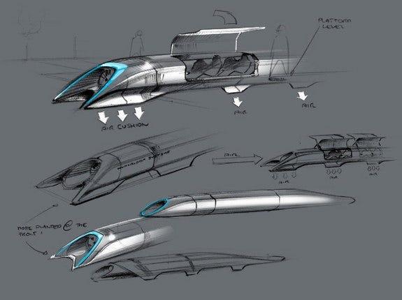 Elon Musk's Hyperloop Transit System