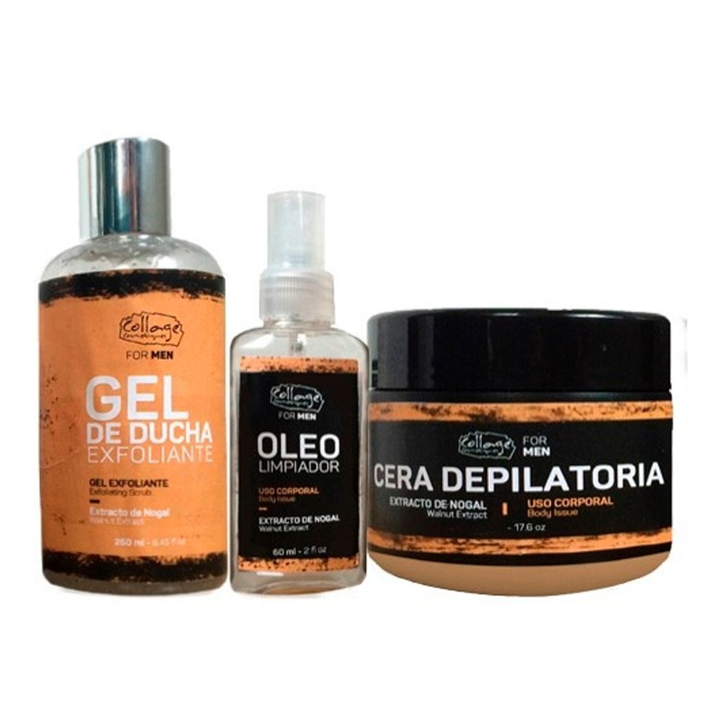 Como Quitar Cera De Depilar De Un Mueble Kit Collage Cera Depilatoria For Men