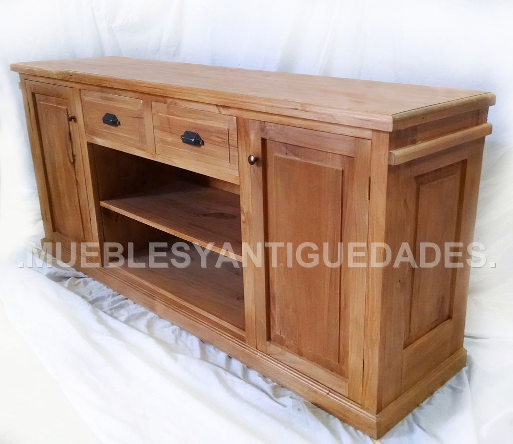 Muebles Para Tv Y Audio Modernos Mueble Para Tv Audio En Madera Maciza Reciclada Tv101a