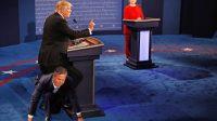Donald Trump Uses Jeb Bush as Human Chair Throughout Debate
