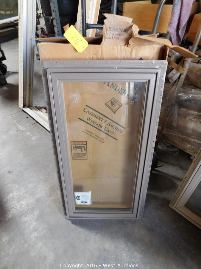 West Auctions - Auction Surplus Auction #2 Doors and Windows ITEM