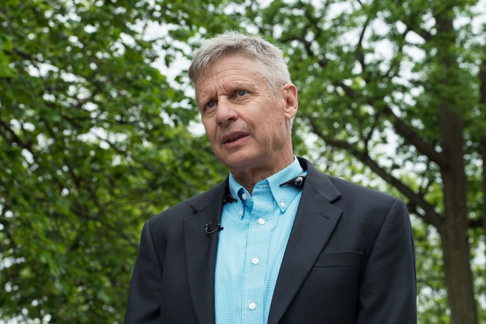 Looking For A Third Party Candidate? Meet Gary Johnson, Libertarian