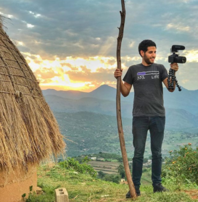 'Nas Daily' Creator Trades High-Paying Tech Job For Viral Travel Vlog | Here & Now