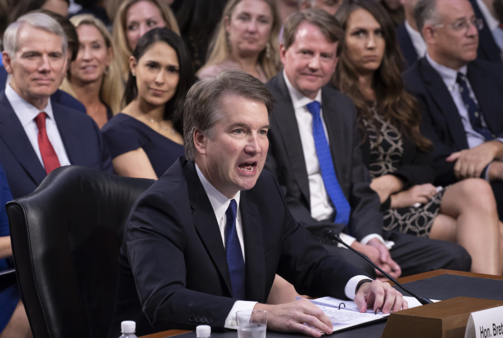 Kavanaugh Faces Roe V Wade, Executive Power Questions On Day 2 Of - formal event