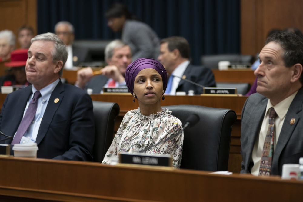 ilhan omar twitter comments on trump