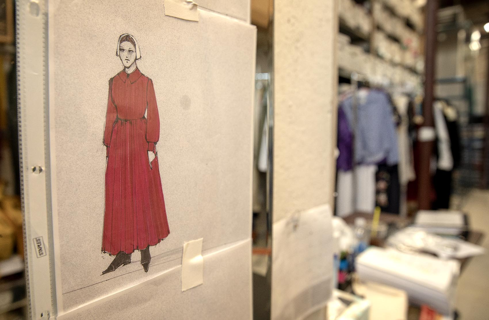 Dressing A Composer The Handmaid S Tale And A Sea Of Blood Red Dresses Comes Home