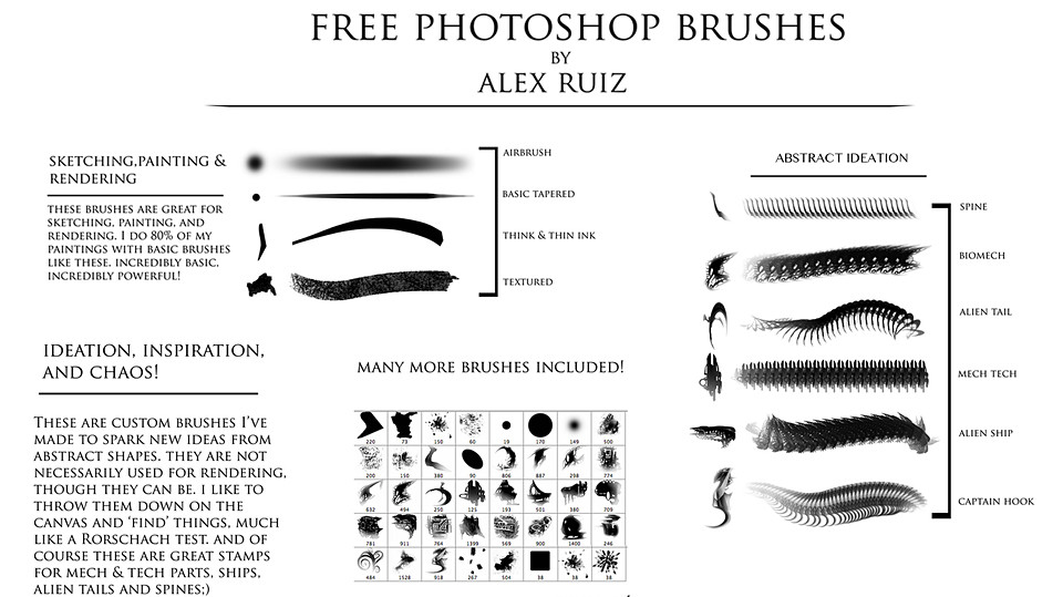 FREE Photoshop Brushes!