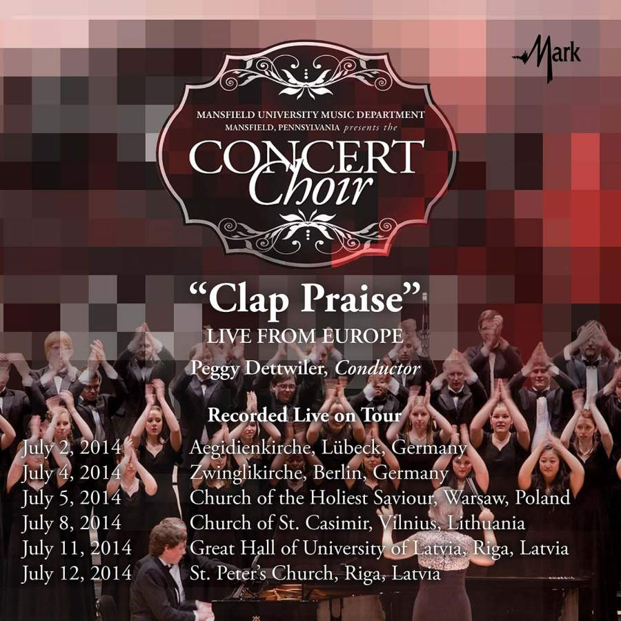 Ecco Lübeck Clap Praise Live From Europe Mark Records 51396 Mcd Download