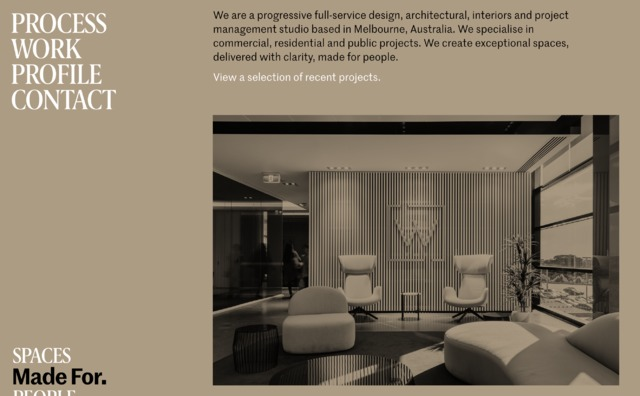 Interior Design websites \u2014 siteInspire