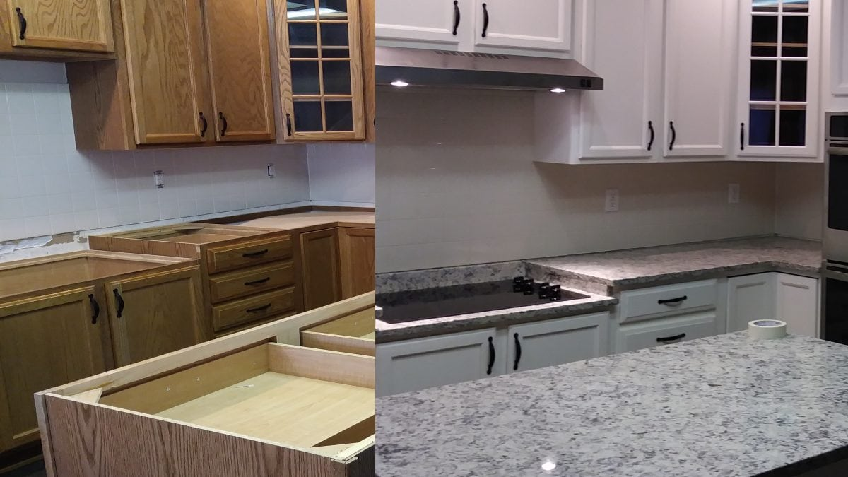 Paint My Kitchen Cabinets Should I Paint My Kitchen Cabinets White Mountain Skyline