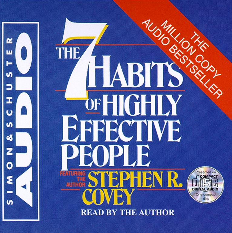 The 7 Habits Of Highly Effective People Audiobook on CD by Stephen R