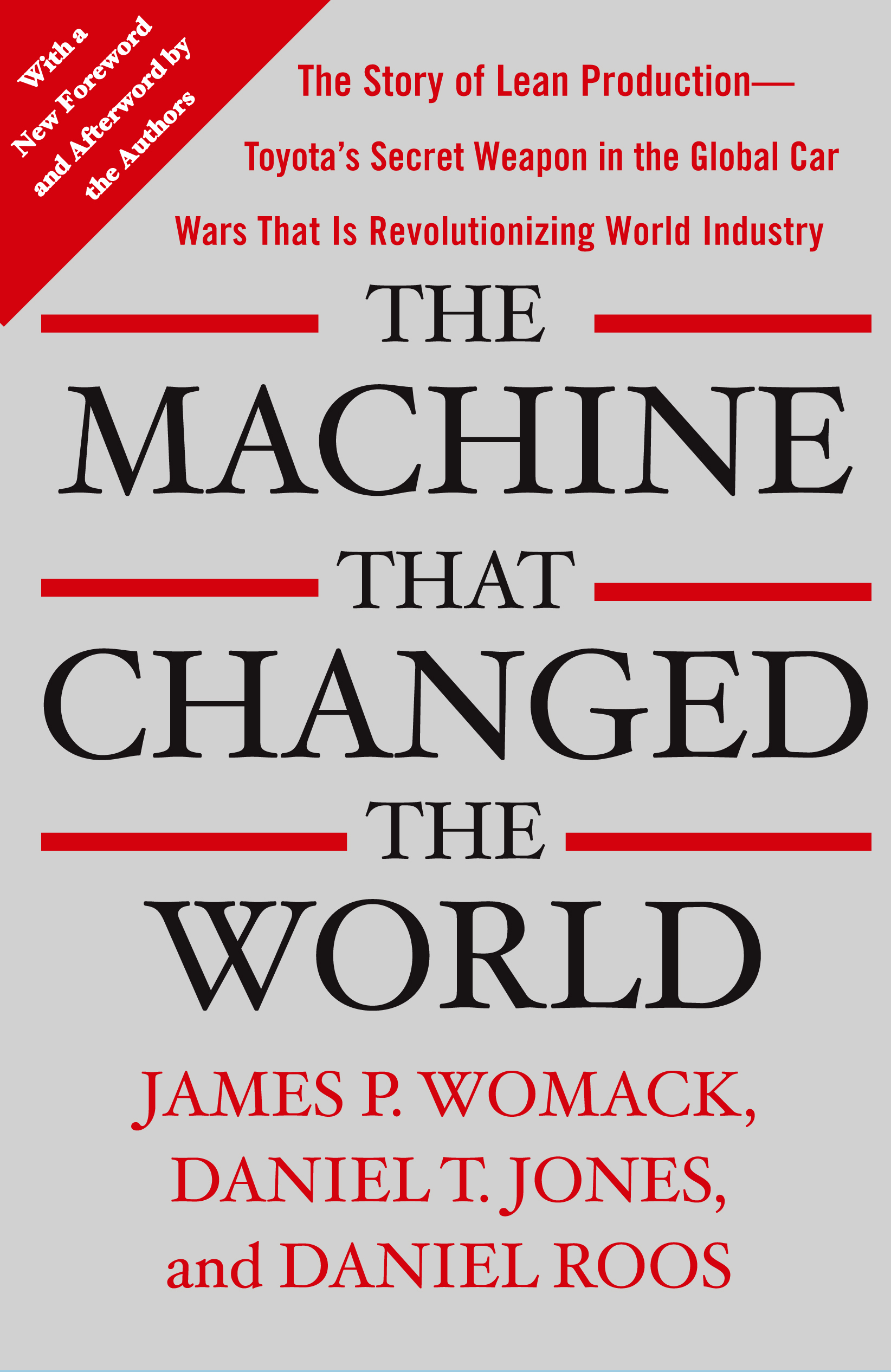 Lean Manufacturing Libros The Machine That Changed The World Book By James P