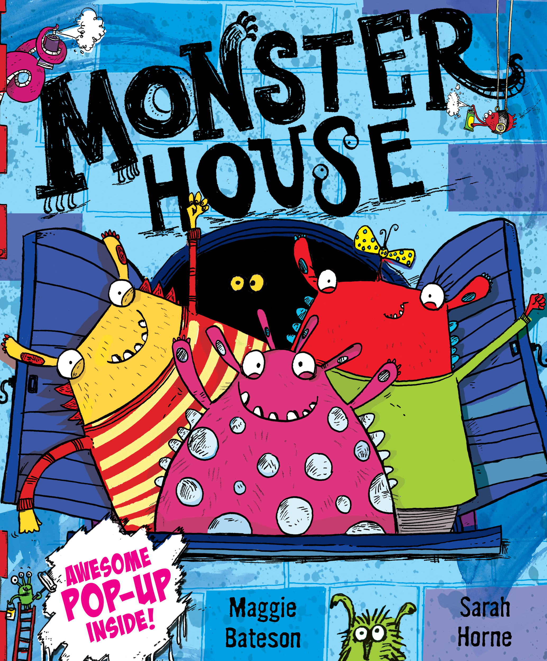 Pop Up Book Cover Monster House Pop Up Book By Sarah Horne Maggie Bateson