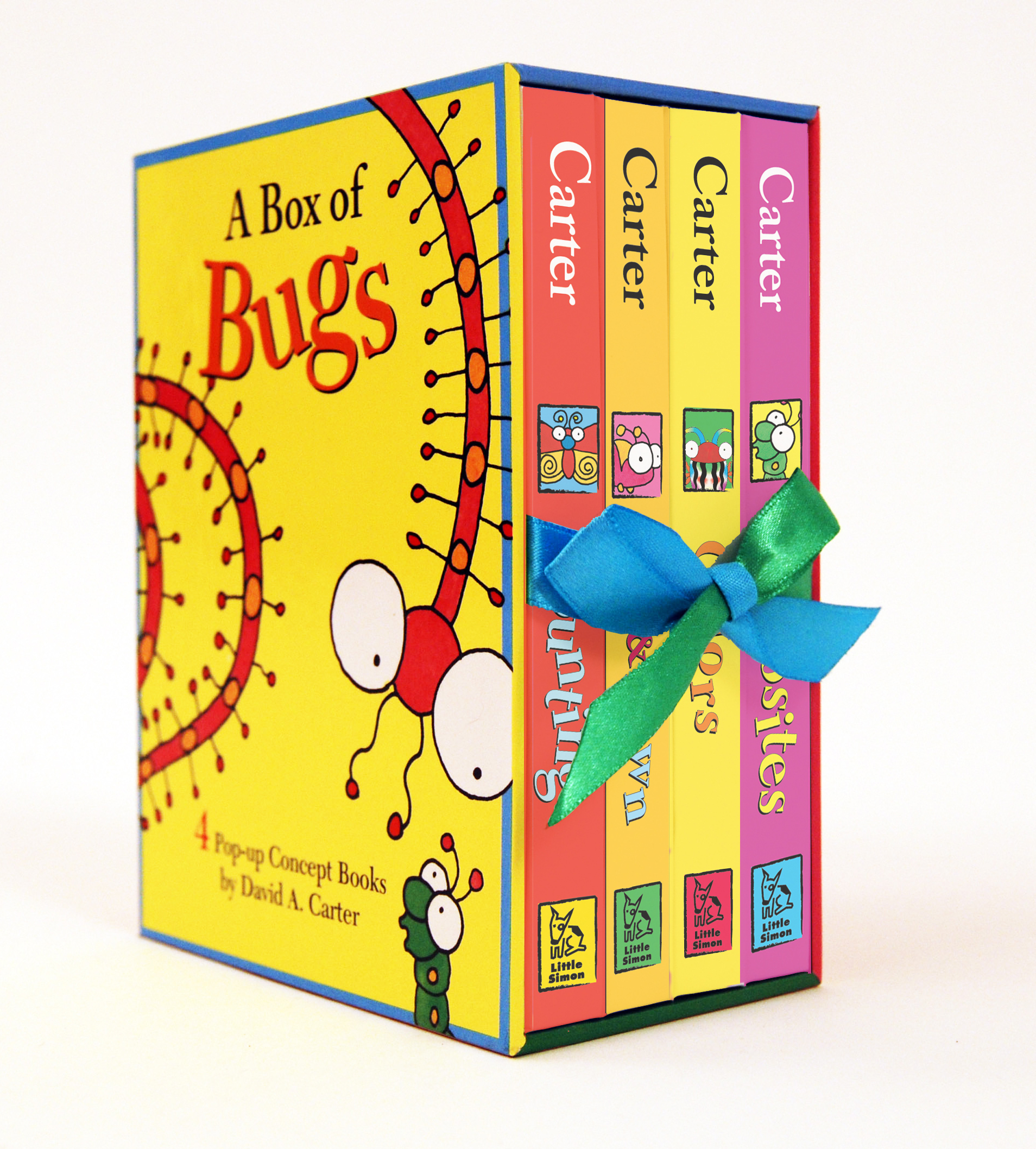 Pop Up Book Cover A Box Of Bugs Book By David A Carter Official Publisher