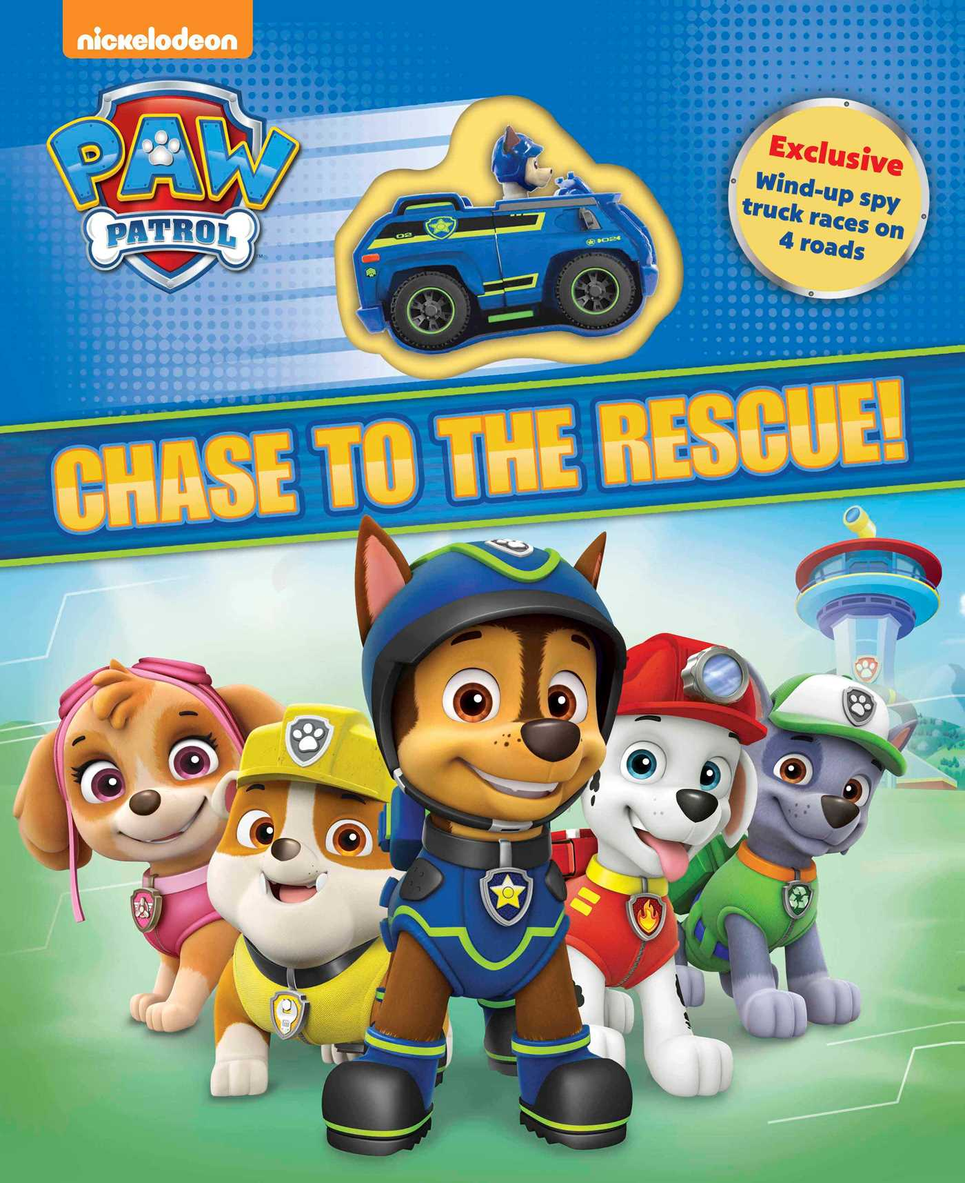 Big W Book Covers Paw Patrol Chase To The Rescue Book By Paw Patrol