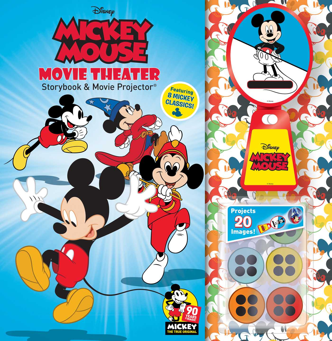 Disney Mickey Disney Mickey Mouse 90th Anniversary Storybook Movie Projector