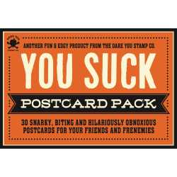 Lummy You Suck Postcard Pack Hr You Suck Postcard Pack Book By Cider Mill Press Official Postcard Stamps Cost 2018 Postcard Stamps 2018 Price