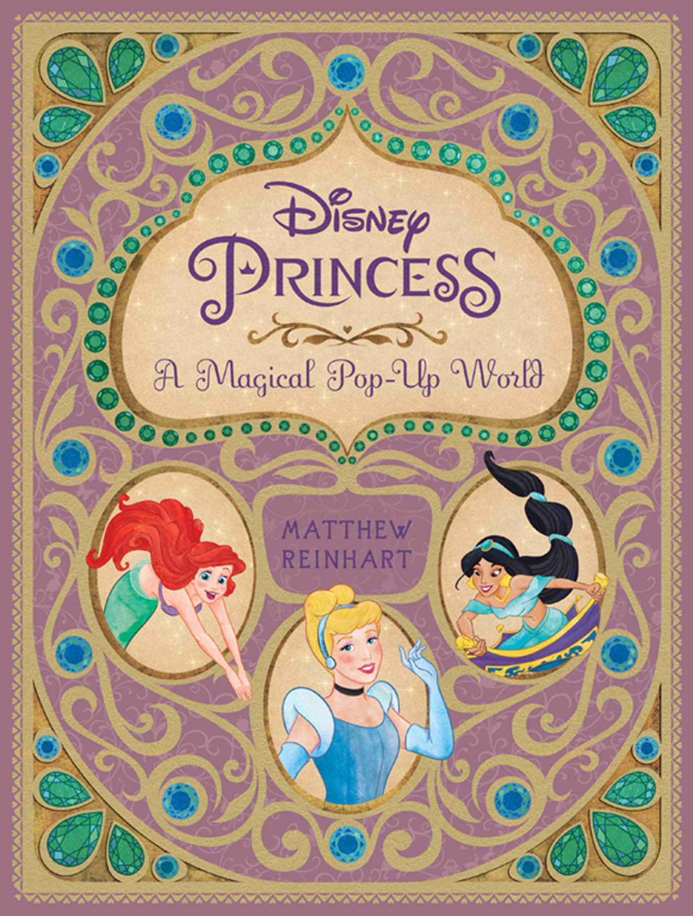 Wicked Libro Disney Princess A Magical Pop Up World Book By Matthew Reinhart