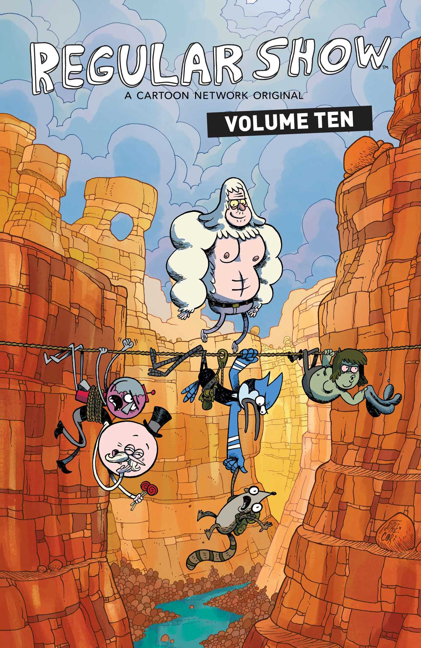 Fiction Publisher Regular Show Vol. 10 | Book By Mad Rupert, Laura Howell