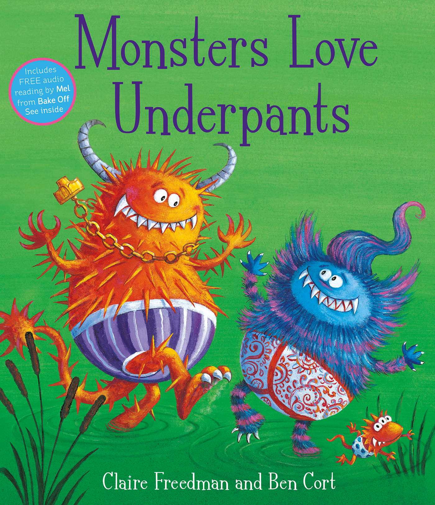 Amazon Uk Books Monsters Love Underpants Book By Claire Freedman Ben Cort