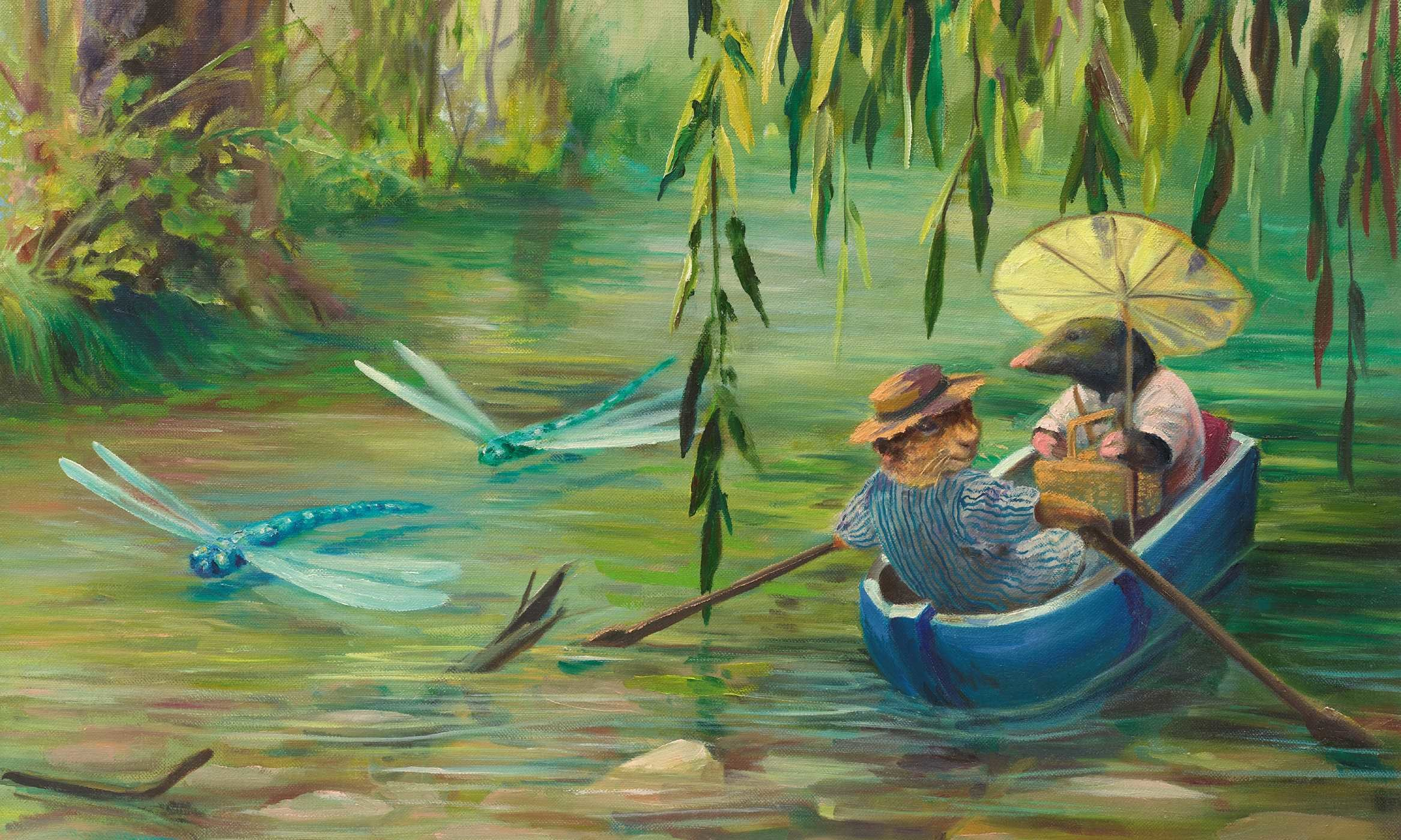 Kids Animal Wallpaper The Wind In The Willows Book By Kenneth Grahame