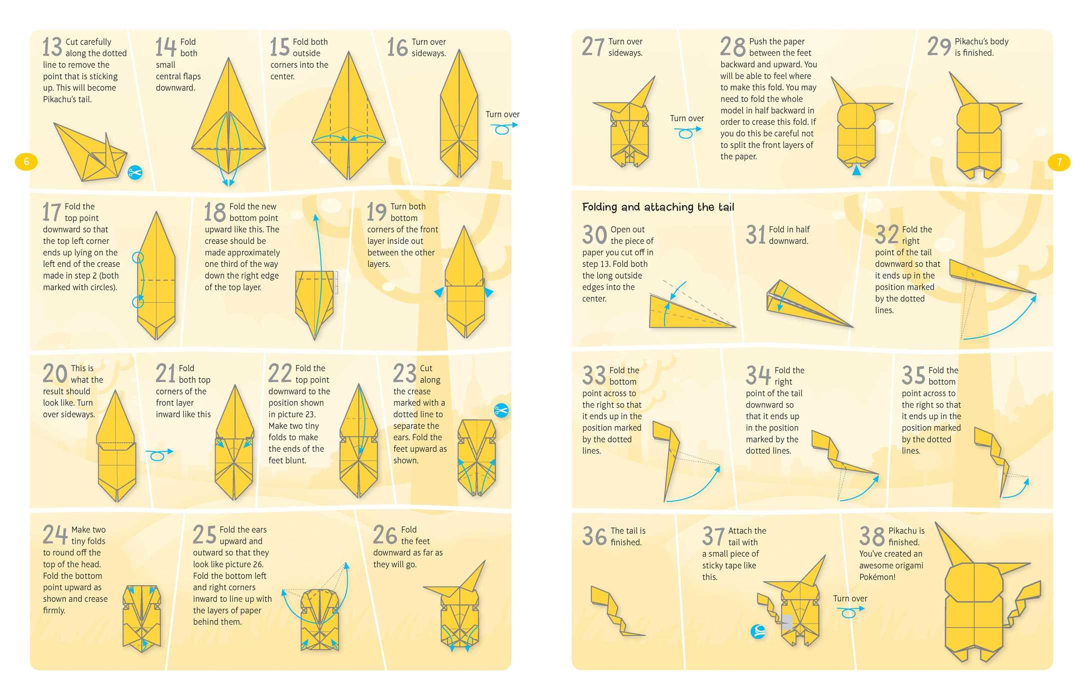 Pokemon Origami Fold Your Own Pokemon Book By Pikachu Press Official Publisher Page
