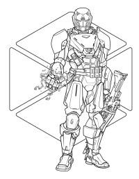 Destiny: The Official Coloring Book | Book by Bungie, Ze ...