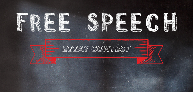 Free Speech Essay Contest winners Shelby Tone, first place
