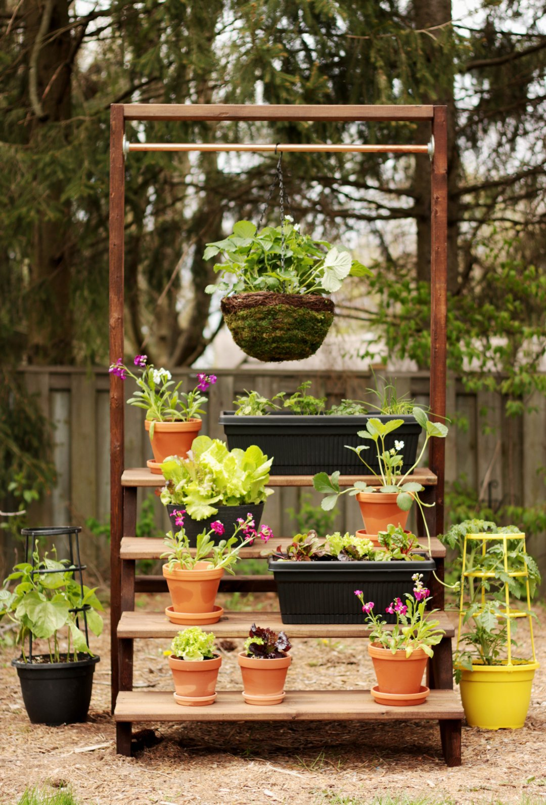 Build Plant Stand Diy Staircase Plant Stand Empress Of Dirt