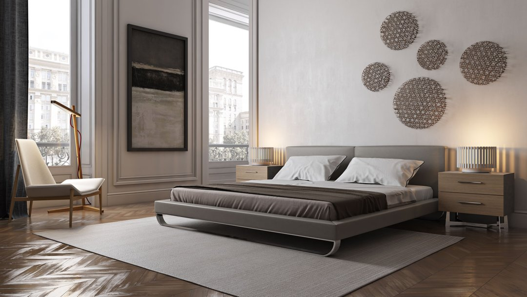 3d Shelves Wallpaper Minimalist Bedroom Designs Yliving Blog