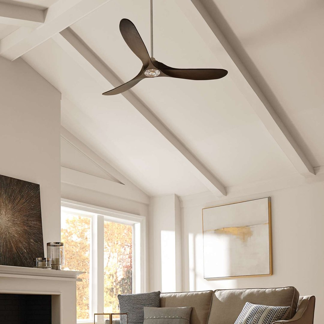 Ceiling Fan For Great Room How To Choose A Ceiling Fan Size Guide Blades And Airflow
