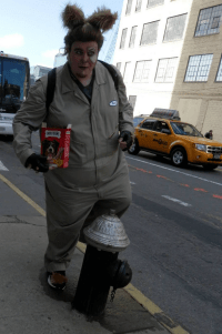 The Guy in a Dog Costume Nailed The Fire Hydrant - Funny ...