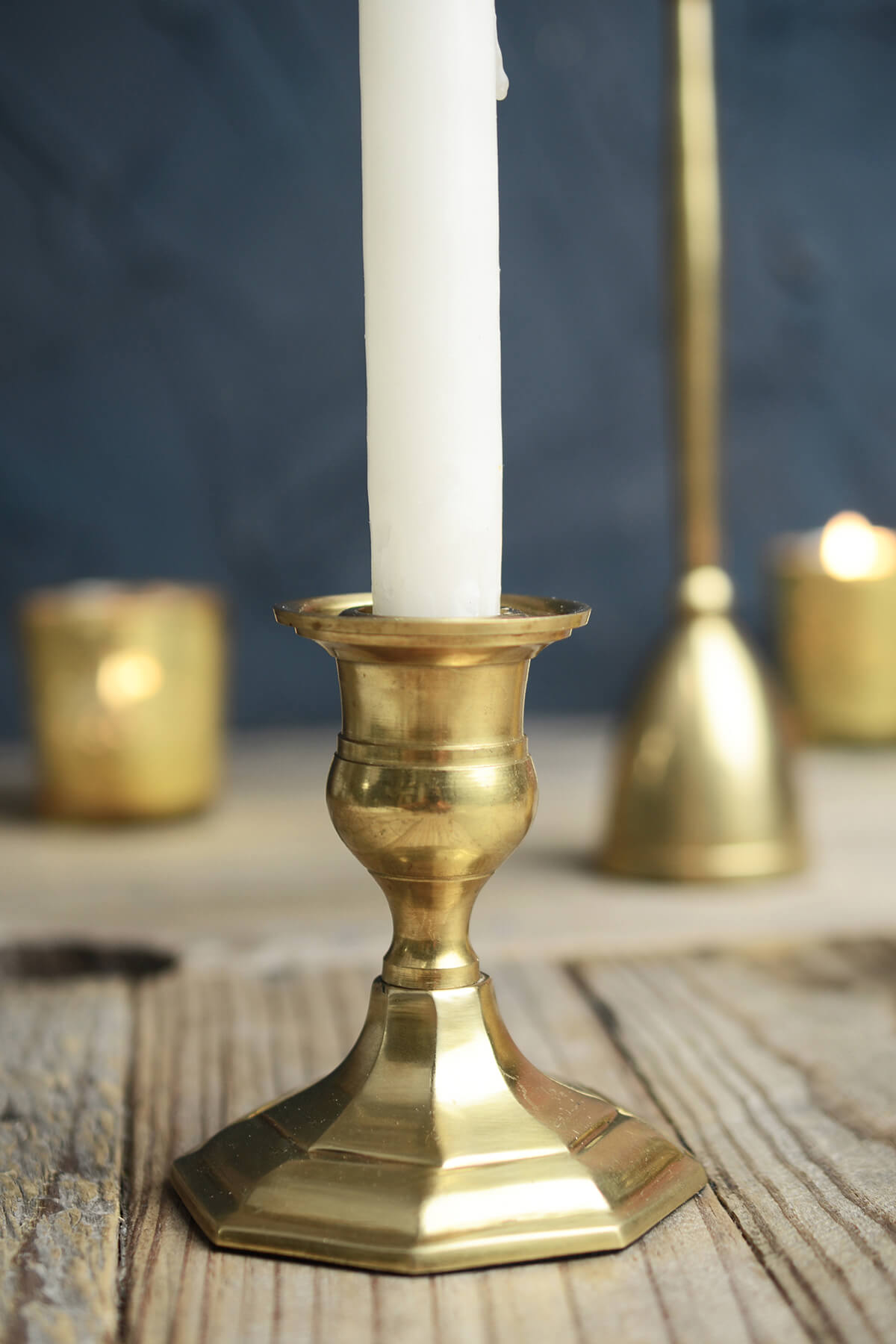 Wooden Candle Holders Australia Gold Metal 3 Quot Taper Candle Holder Antique Candlestick