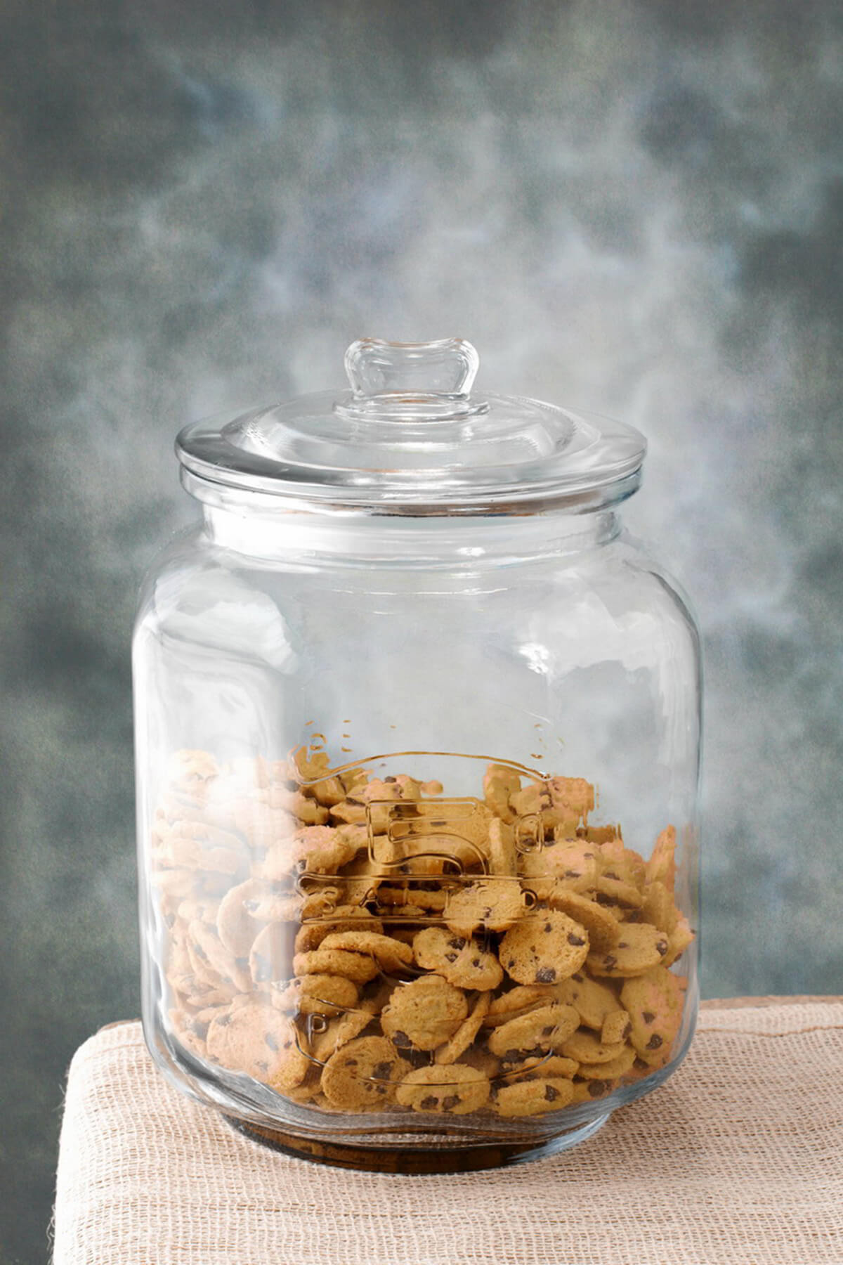 Nice Cookie Jars Glass Cookie Jar Large 8 25 X 12in