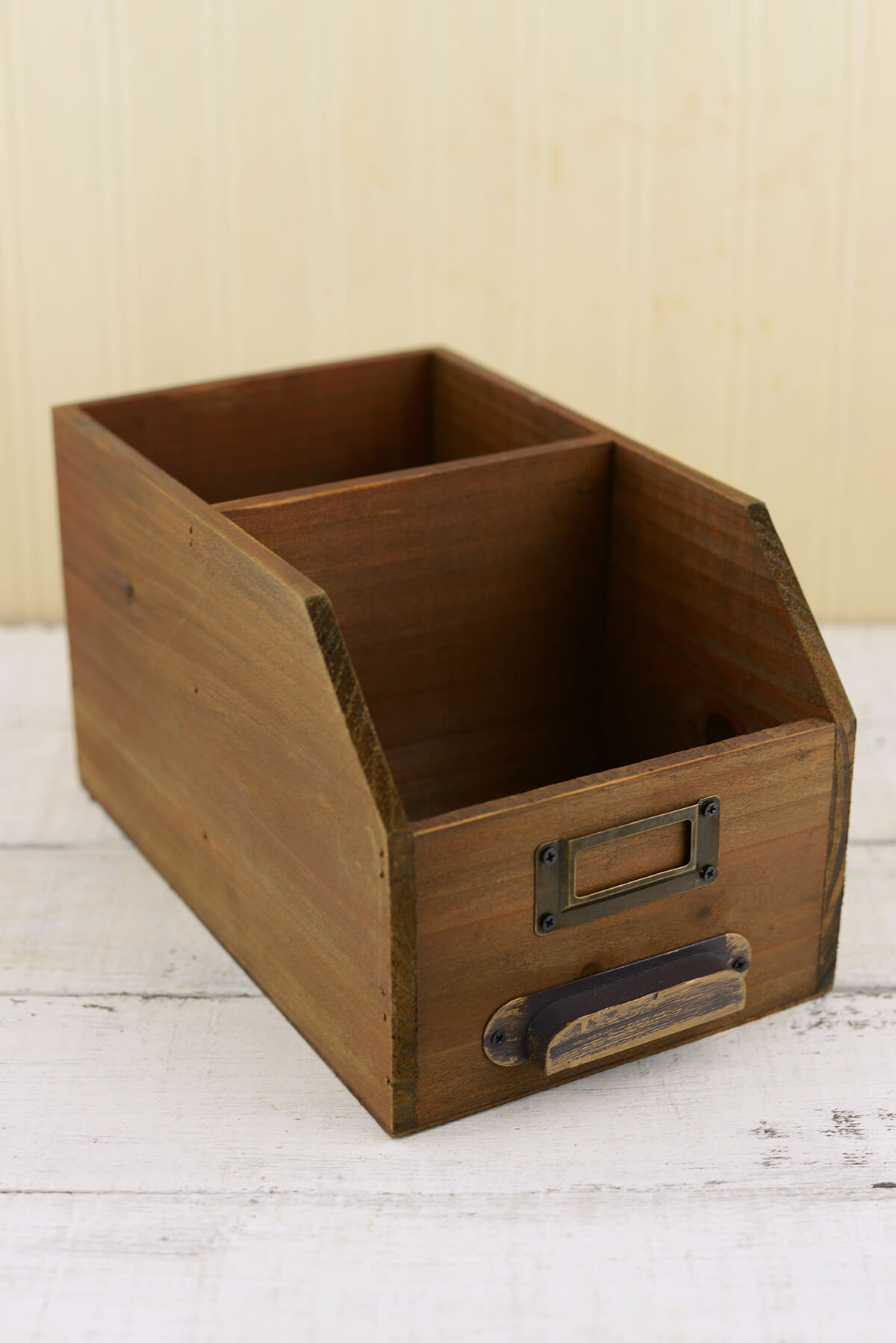 Desk Organizer Wood Desk Organizer 10in