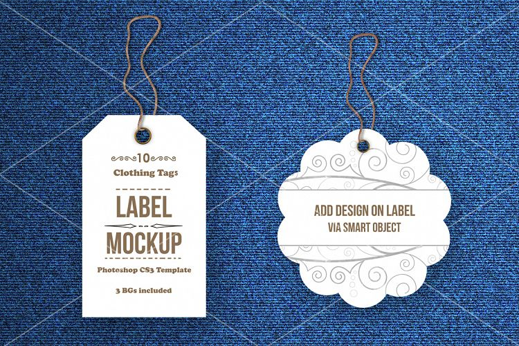Tags / Labels Mockup Bundle by aivos Design Bundles