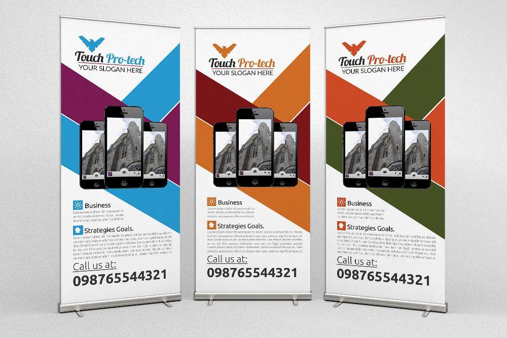 Mobile Promotion Flyers by Designhub719 Design Bundles