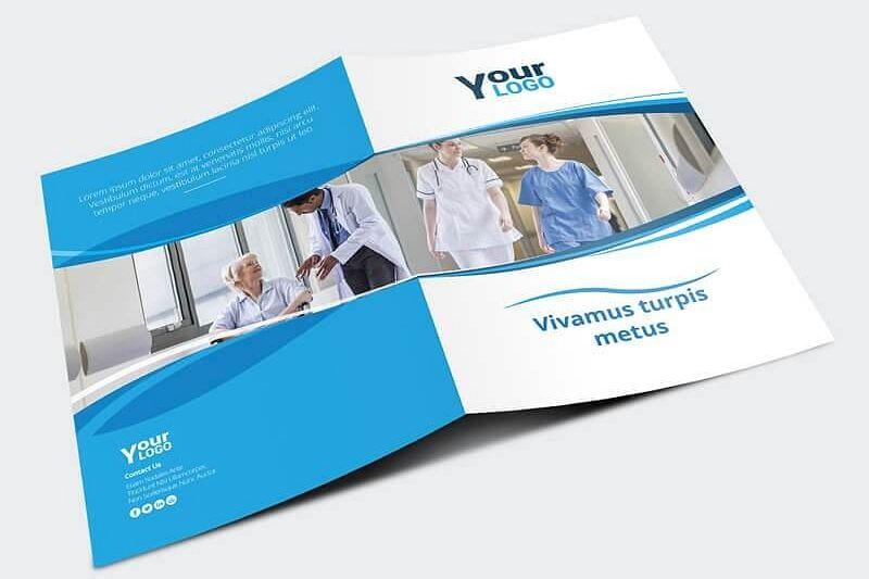 Healthcare Brochure Template by Vectogr Design Bundles - healthcare brochure