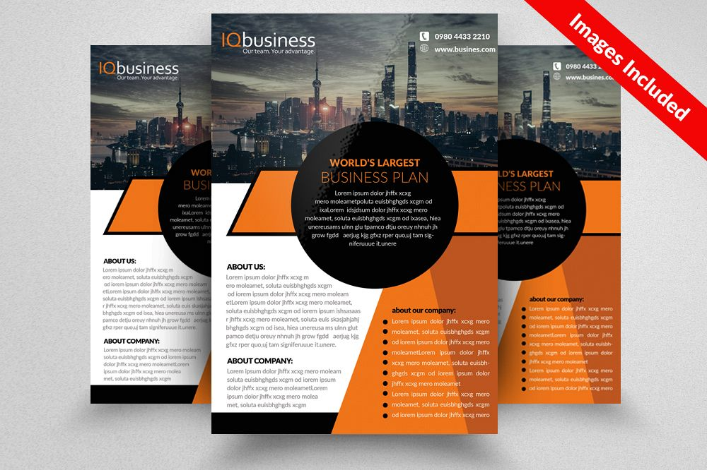 City Business Promotion Flyer by Design Design Bundles