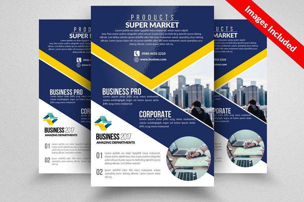 Business Firm Flyers Templates by Desig Design Bundles - product flyer