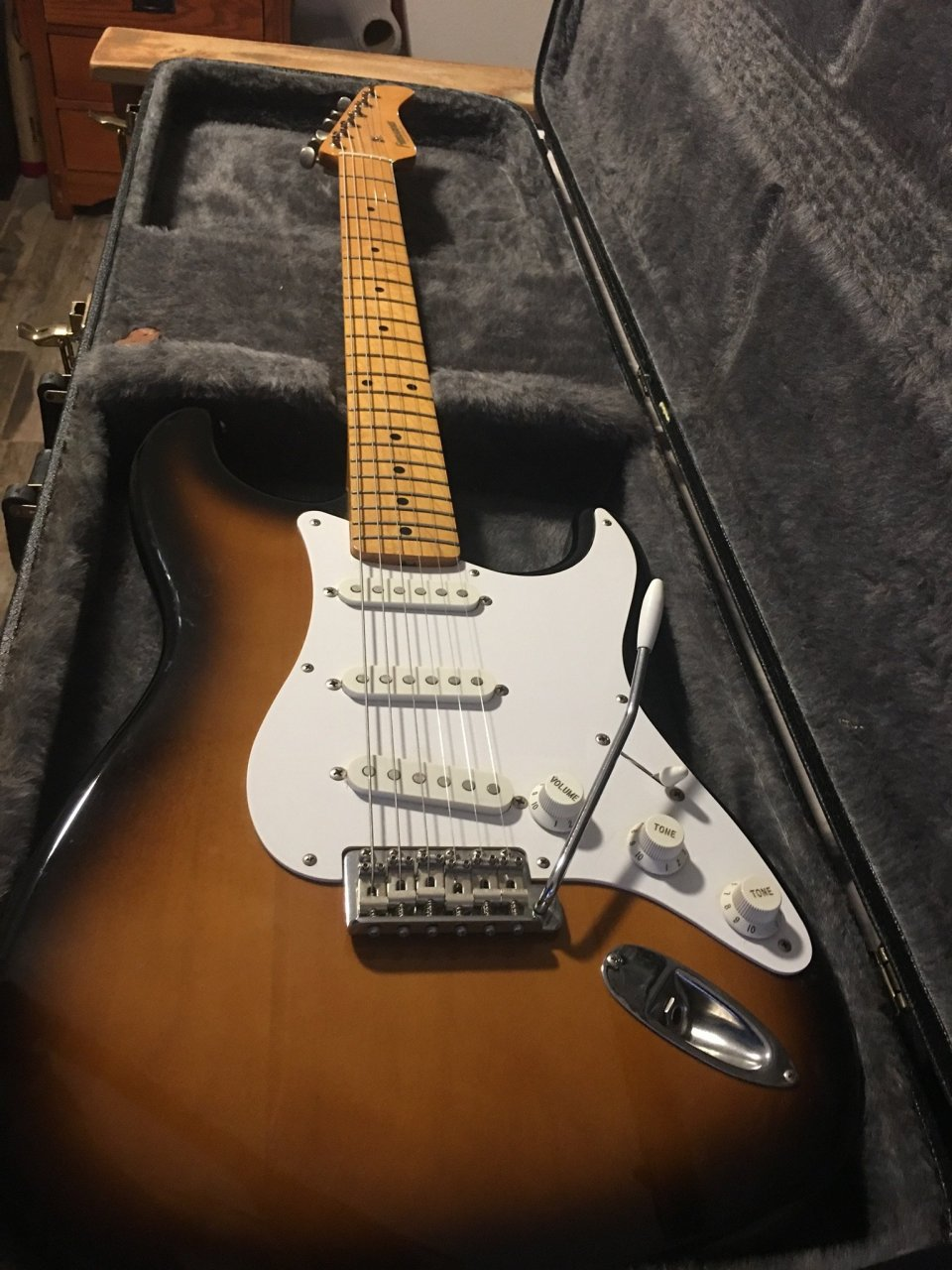 Double Neck Vs Single Neck Guitar Value Of Fernandes Stratocaster Type Guitar Axe Central
