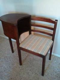 Gossip/Telephone Chair | My Antique Furniture Collection
