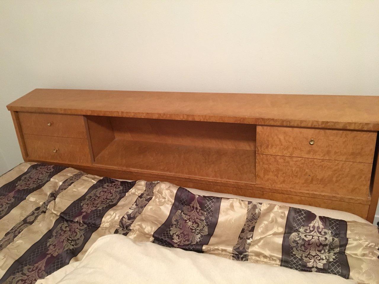 Maple Bedroom Furniture 1950s