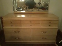 Dixie Mid-century Antique Blond Bedroom Set | My Antique ...
